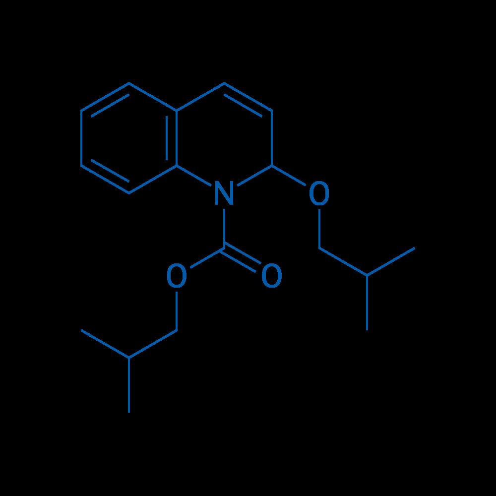 Isobutyl 2-isobutoxyquinoline-1(2H)-carboxylate