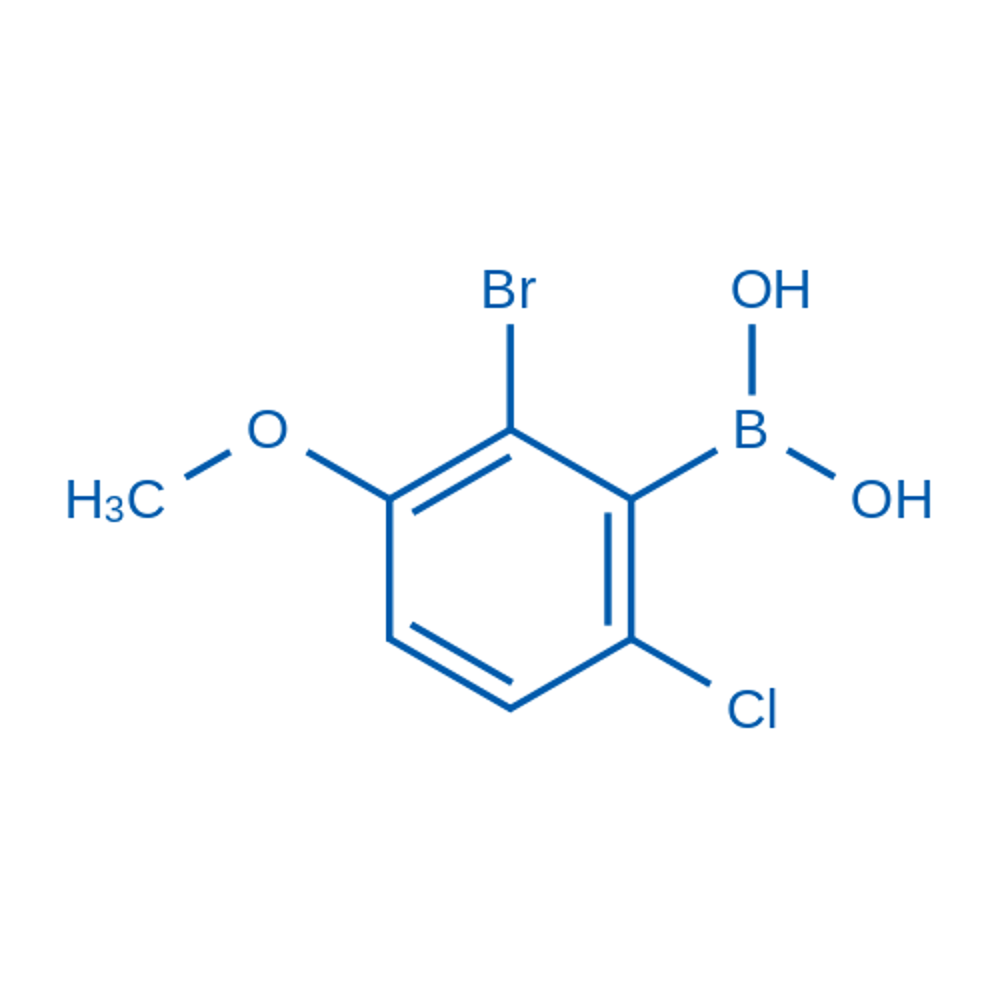 (2-Bromo-6-chloro-3-methoxyphenyl)boronic acid