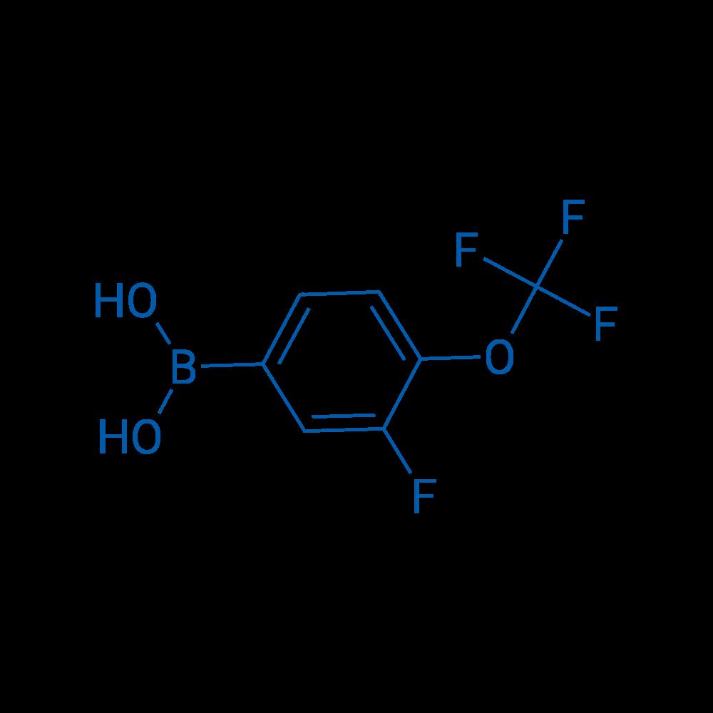 (3-Fluoro-4-(trifluoromethoxy)phenyl)boronic acid