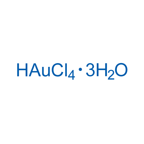 Hydrogen tetrachloroaurate(III) trihydrate