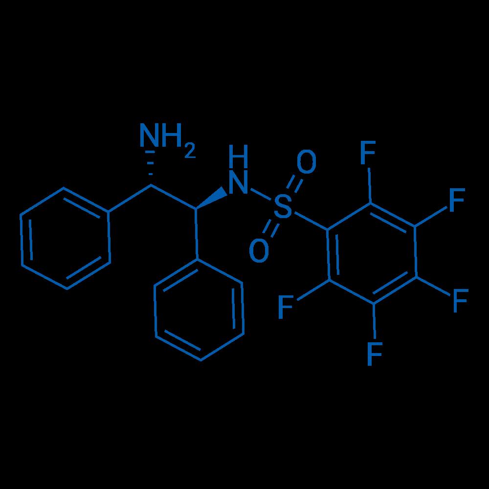 N-((1S,2S)-2-Amino-1,2-diphenylethyl)-2,3,4,5,6-pentafluorobenzenesulfonamide