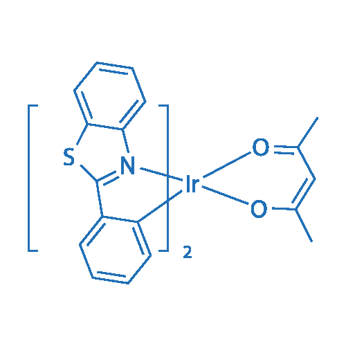 Bis(2-phenylbenzothiazolato)(acetylacetonate)iridium(III)