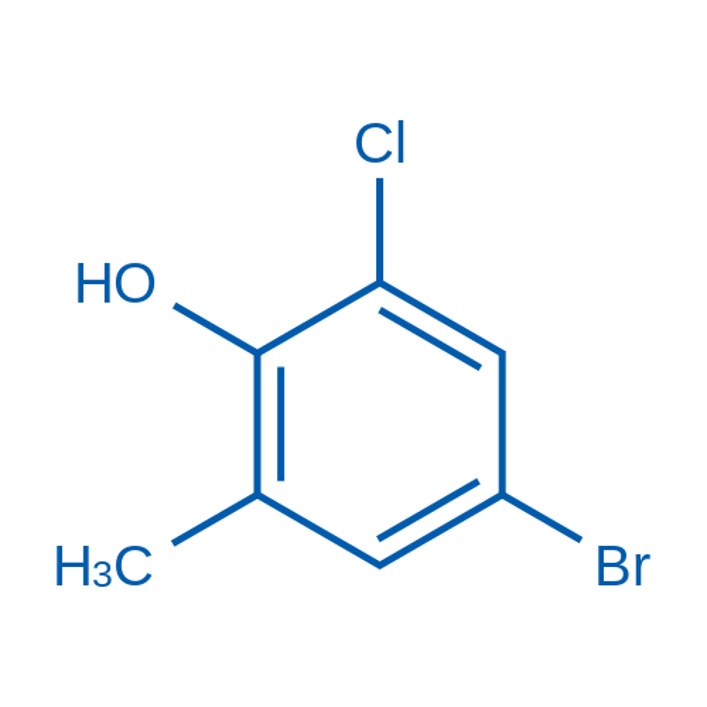 4-Bromo-2-chloro-6-methylphenol