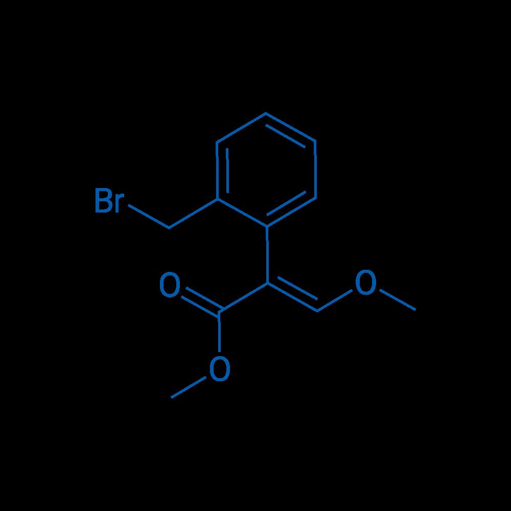 (E)-Methyl 2-(2-(bromomethyl)phenyl)-3-methoxyacrylate
