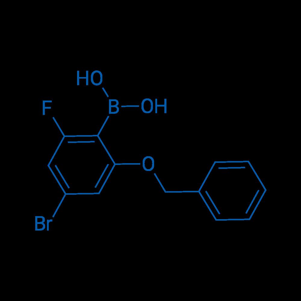 (2-(Benzyloxy)-4-bromo-6-fluorophenyl)boronic acid