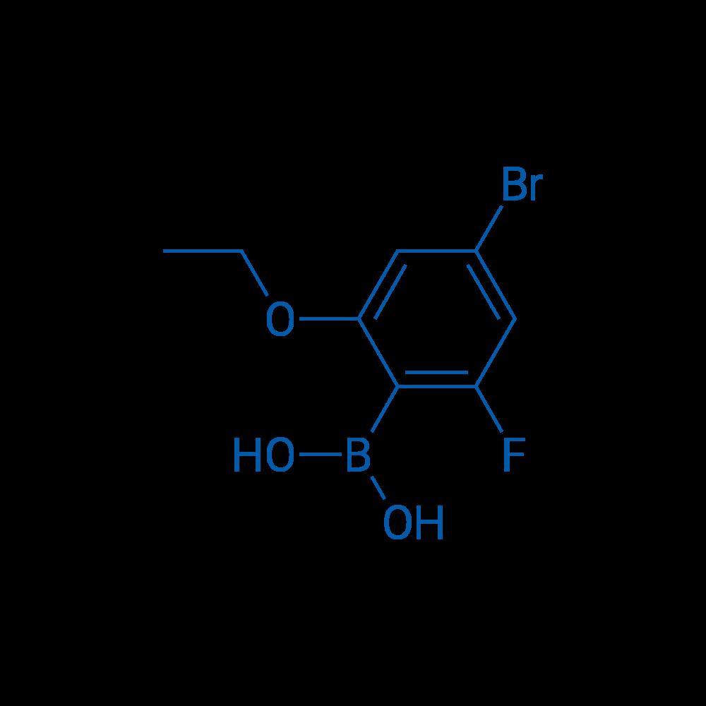 (4-Bromo-2-ethoxy-6-fluorophenyl)boronic acid