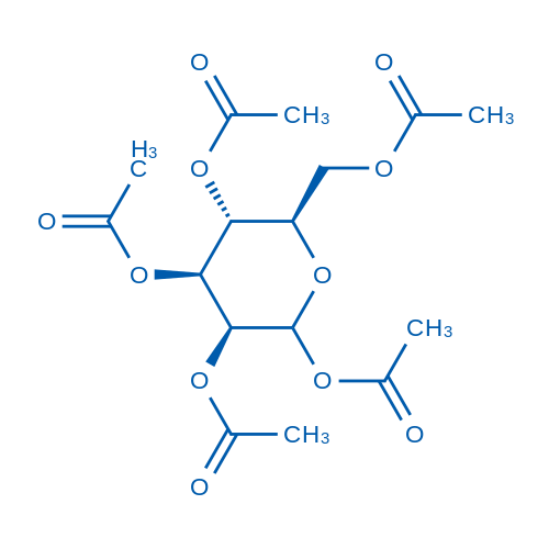 (3S,4S,5R,6R)-6-(Acetoxymethyl)tetrahydro-2H-pyran-2,3,4,5-tetrayl tetraacetate