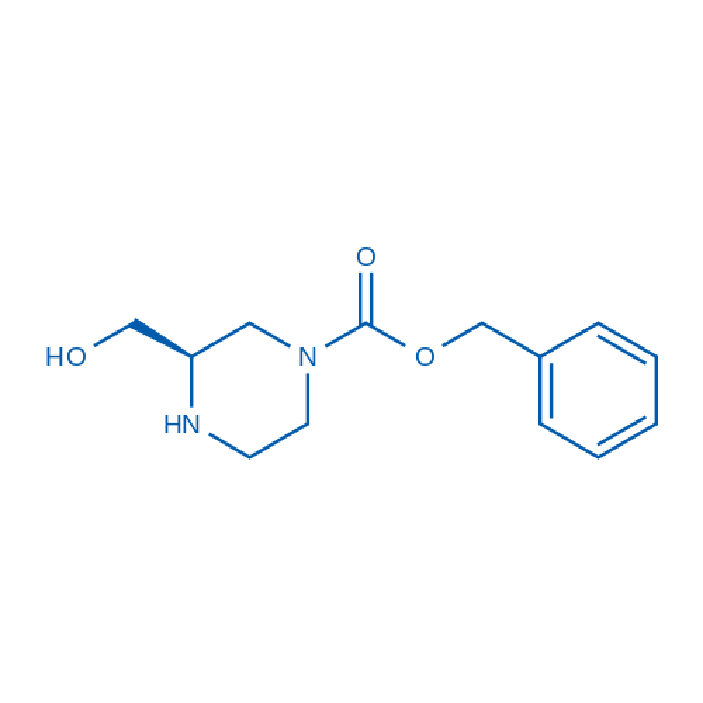 (R)-Benzyl 3-(hydroxymethyl)piperazine-1-carboxylate