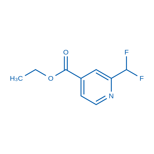 Ethyl 2-(difluoromethyl)isonicotinate