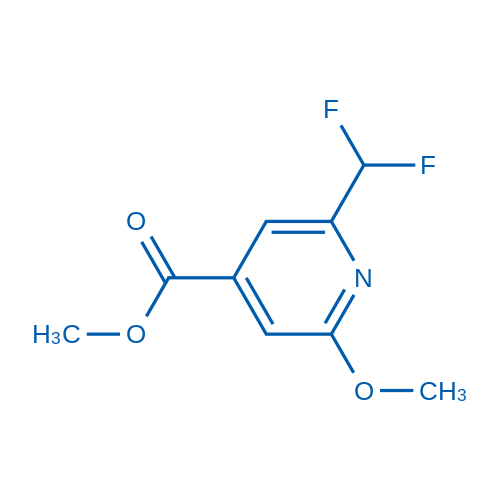 Methyl 2-(difluoromethyl)-6-methoxyisonicotinate