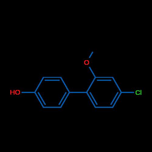 4'-Chloro-2'-methoxy-[1,1'-biphenyl]-4-ol