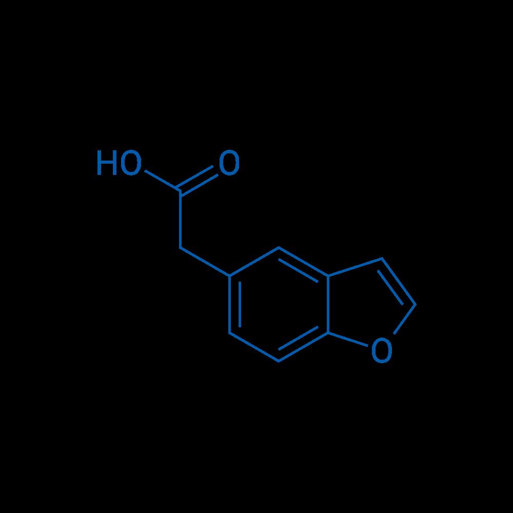 2-(Benzofuran-5-yl)acetic Acid