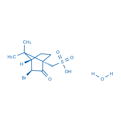 ((1S,3S,4S)-3-Bromo-7,7-dimethyl-2-oxobicyclo[2.2.1]heptan-1-yl)methanesulfonic acid hydrate