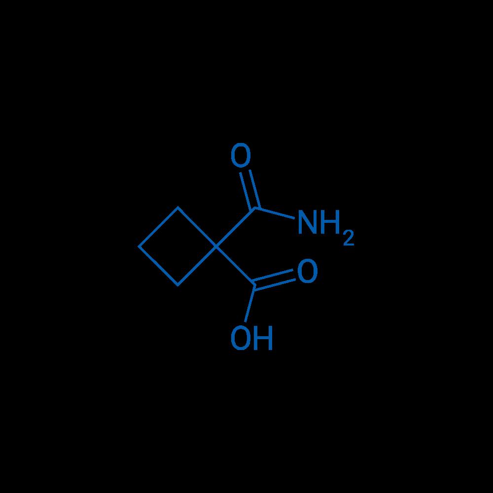 Cyclobutane-1,1-dicarboxylic acid monoamide
