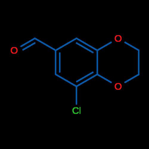 8-Chloro-2,3-dihydrobenzo[b][1,4]dioxine-6-carbaldehyde