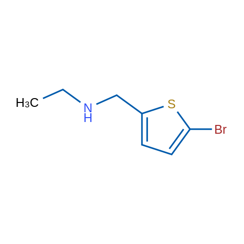 N-((5-Bromothiophen-2-yl)methyl)ethanamine