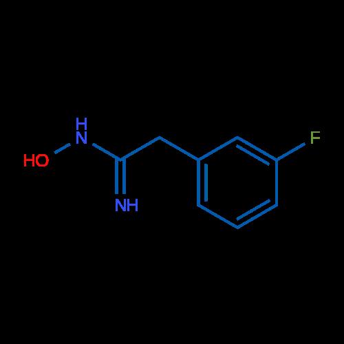 2-(3-Fluorophenyl)-N-hydroxyacetimidamide