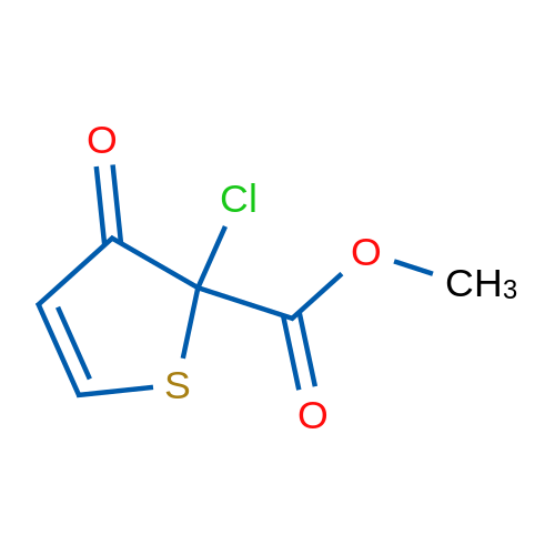 Methyl 2-chloro-3-oxo-2,3-dihydrothiophene-2-carboxylate