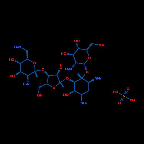 Paromomycin sulfate salt