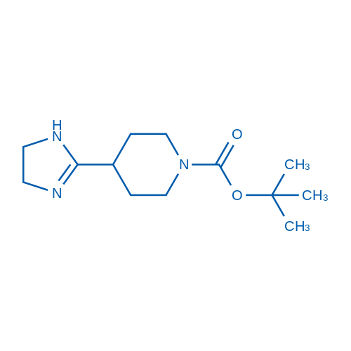 tert-Butyl 4-(4,5-dihydro-1H-imidazol-2-yl)piperidine-1-carboxylate
