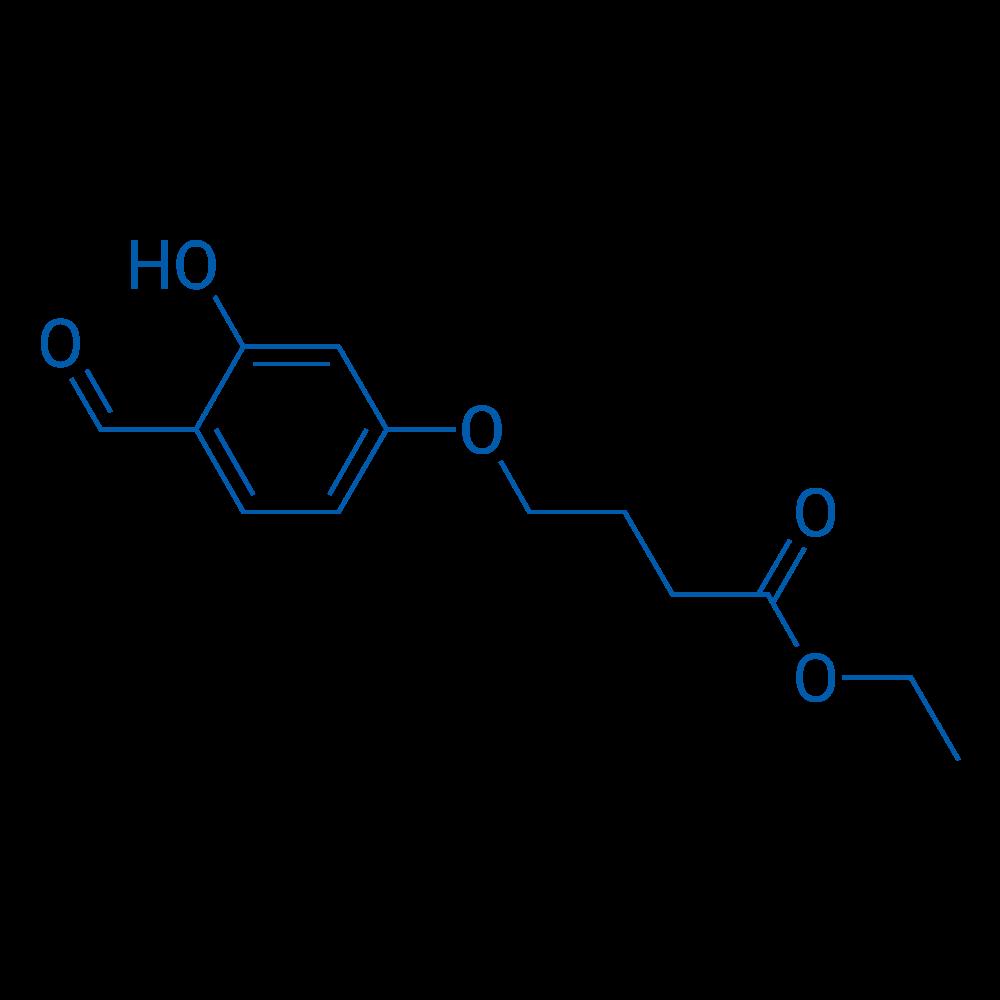 Ethyl 4-(4-formyl-3-hydroxyphenoxy)butanoate