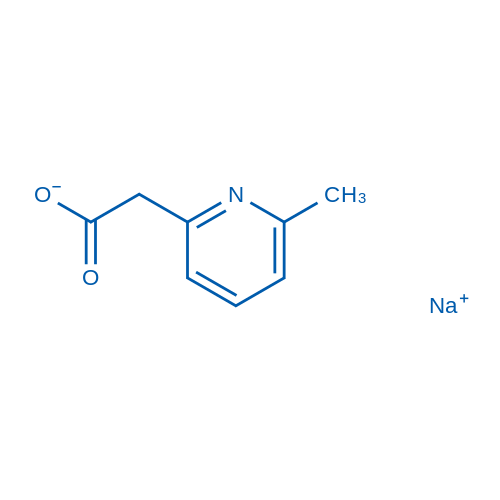 Sodium 2-(6-methylpyridin-2-yl)acetate
