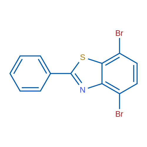4,7-Dibromo-2-phenylbenzo[d]thiazole