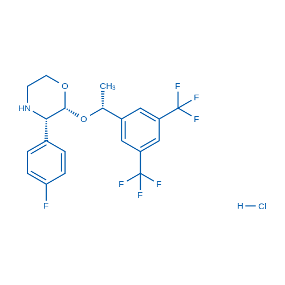 (2R,3S)-2-((R)-1-(3,5-Bis(trifluoromethyl)phenyl)ethoxy)-3-(4-fluorophenyl)morpholine hydrochloride