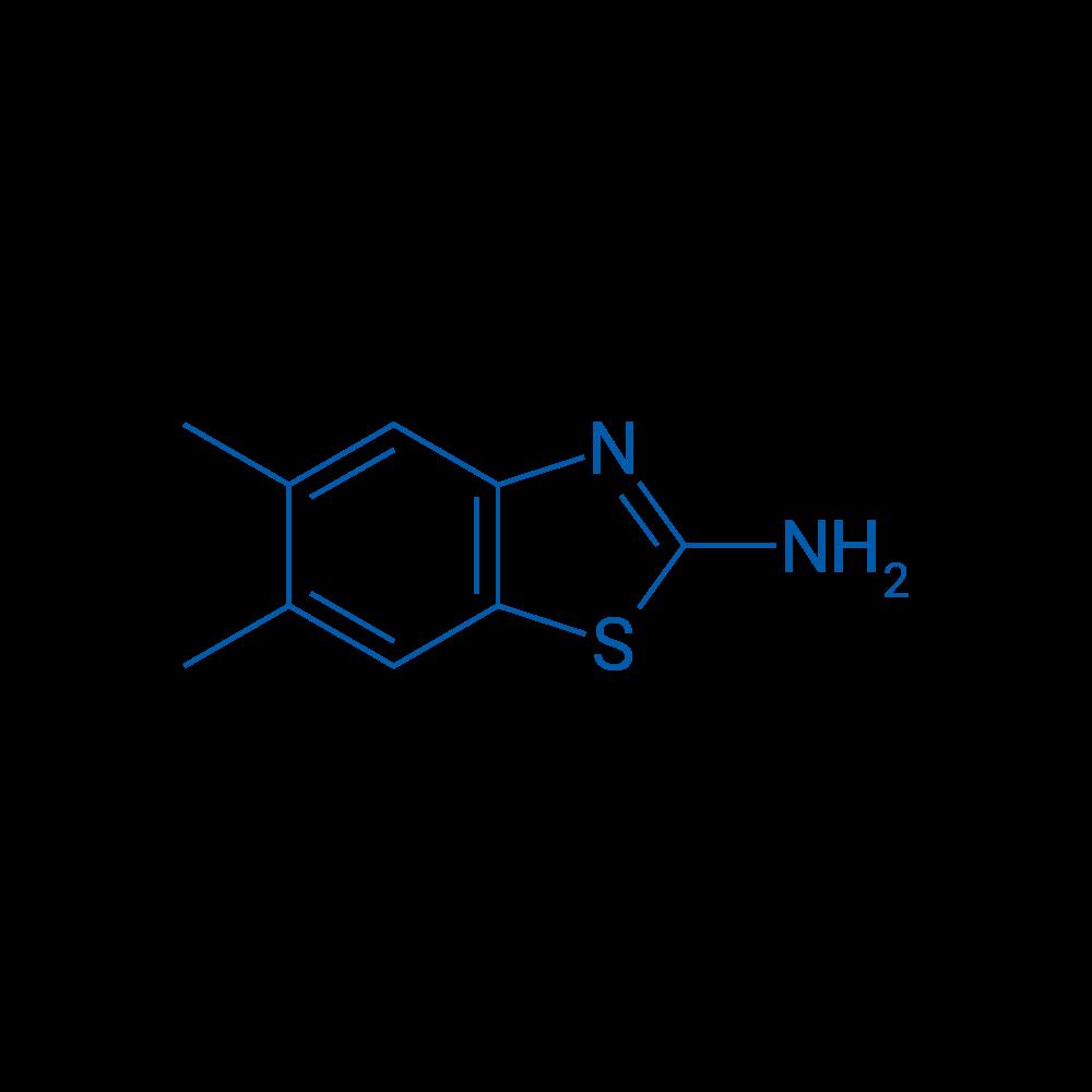 5,6-Dimethylbenzo[d]thiazol-2-amine