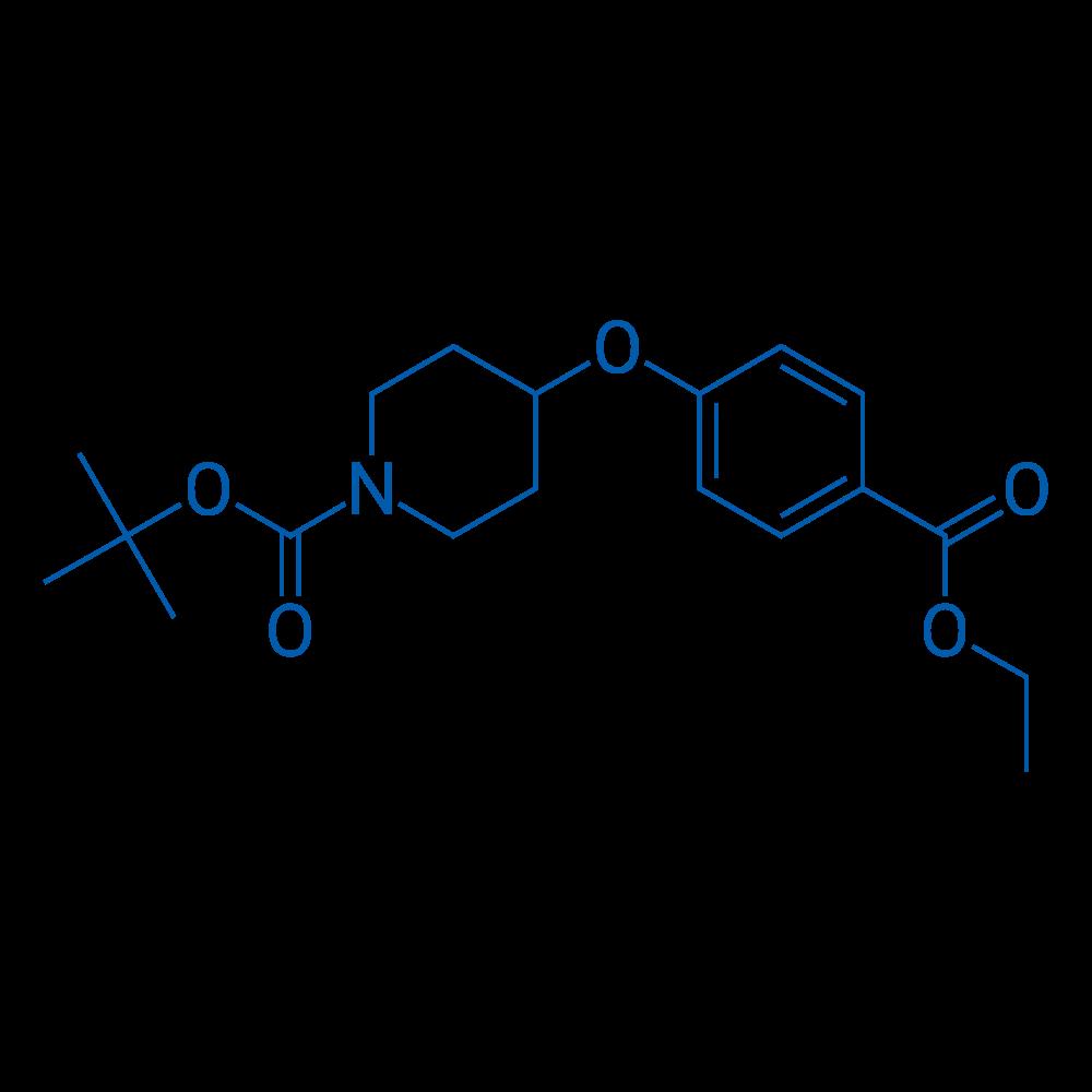 tert-Butyl 4-(4-(ethoxycarbonyl)phenoxy)piperidine-1-carboxylate
