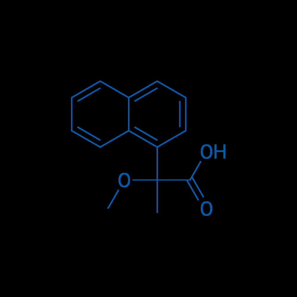 2-Methoxy-2-(naphthalen-1-yl)propanoic acid