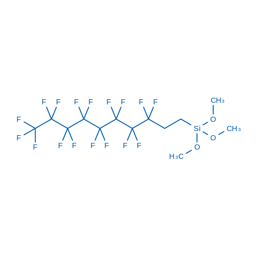 (3,3,4,4,5,5,6,6,7,7,8,8,9,9,10,10,10-Heptadecafluorodecyl)trimethoxysilane