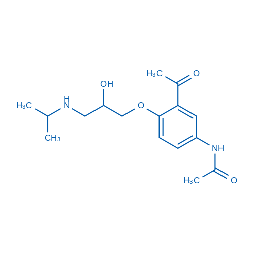 N-(3-Acetyl-4-(2-hydroxy-3-(isopropylamino)propoxy)phenyl)acetamide