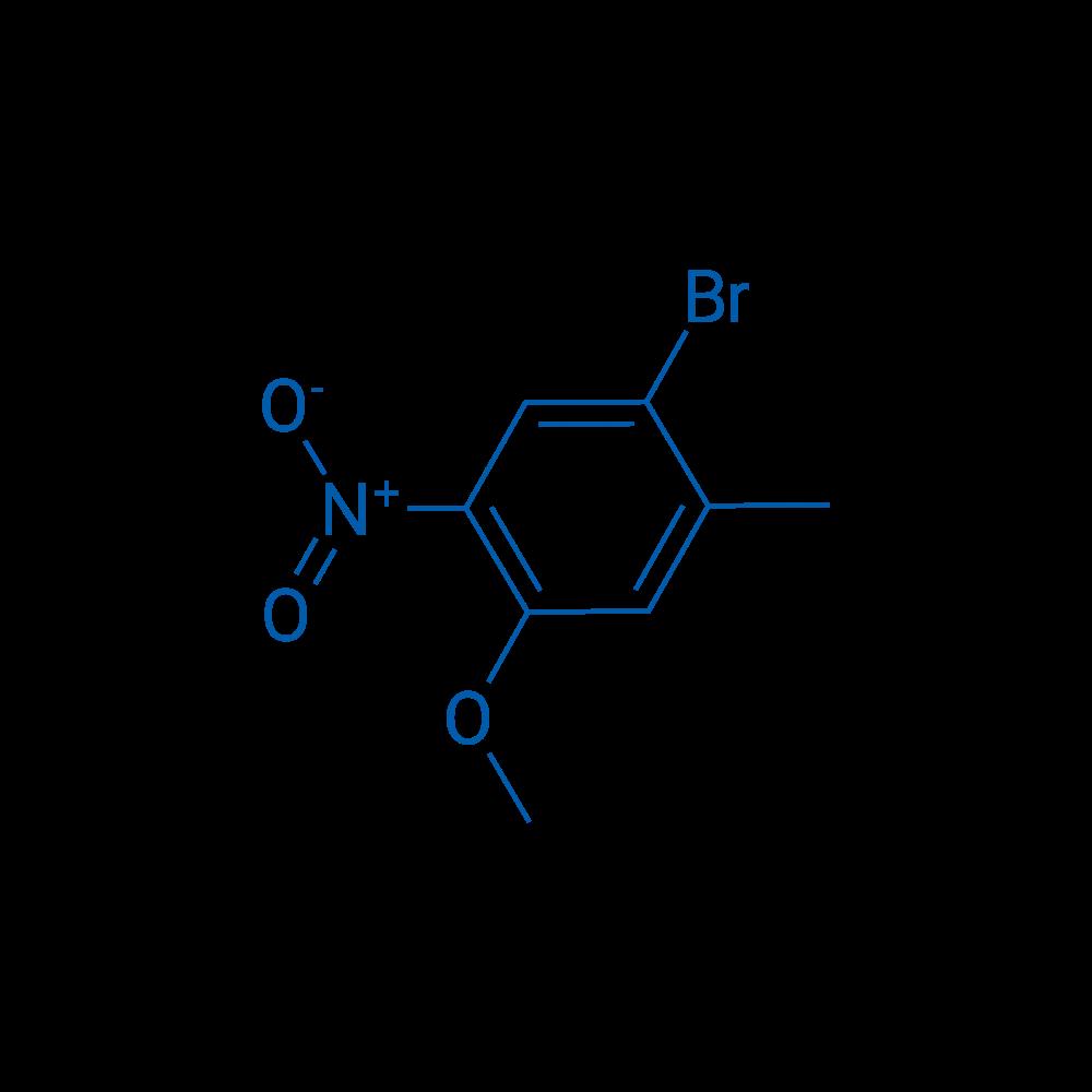 1-Bromo-4-methoxy-2-methyl-5-nitrobenzene