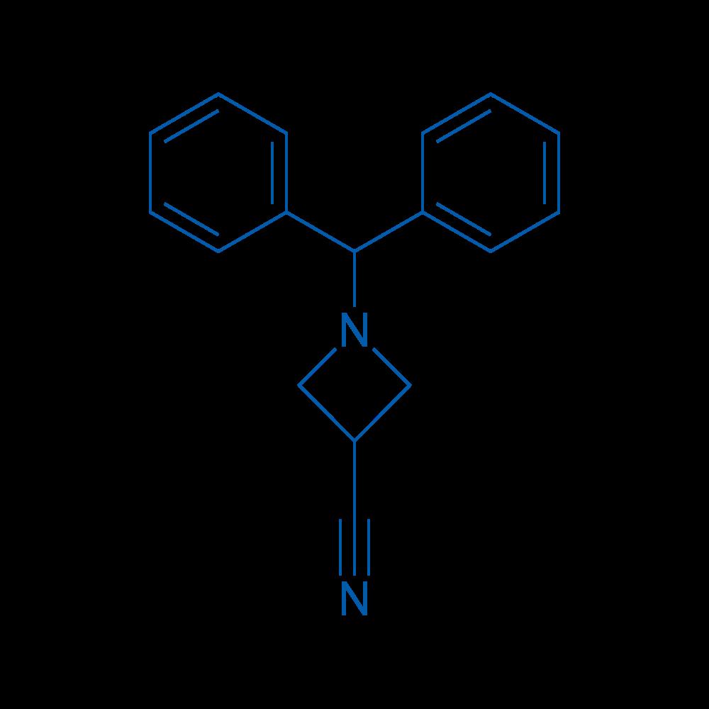 1-Benzhydrylazetidine-3-carbonitrile