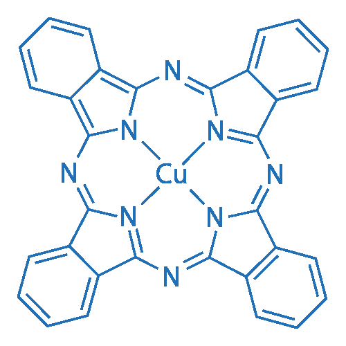 Copper(II) phthalocyanine
