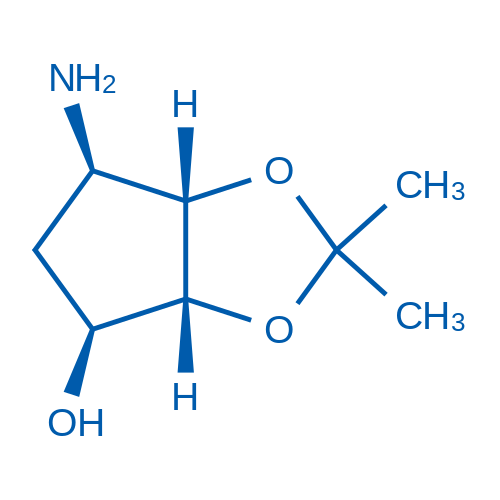 (3aR,4S,6R,6aS)-6-Amino-2,2-dimethyltetrahydro-3aH-cyclopenta[d][1,3]dioxol-4-ol