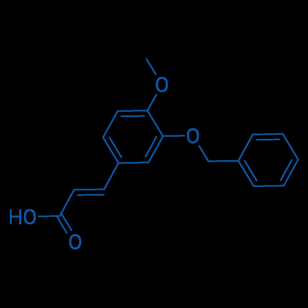 3-(3-(Benzyloxy)-4-methoxyphenyl)acrylic acid
