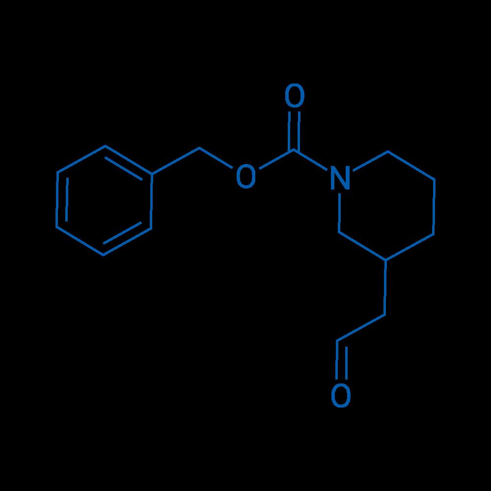 Benzyl 3-(2-oxoethyl)piperidine-1-carboxylate