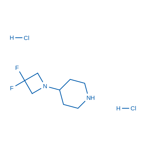 4-(3,3-Difluoroazetidin-1-yl)piperidine dihydrochloride