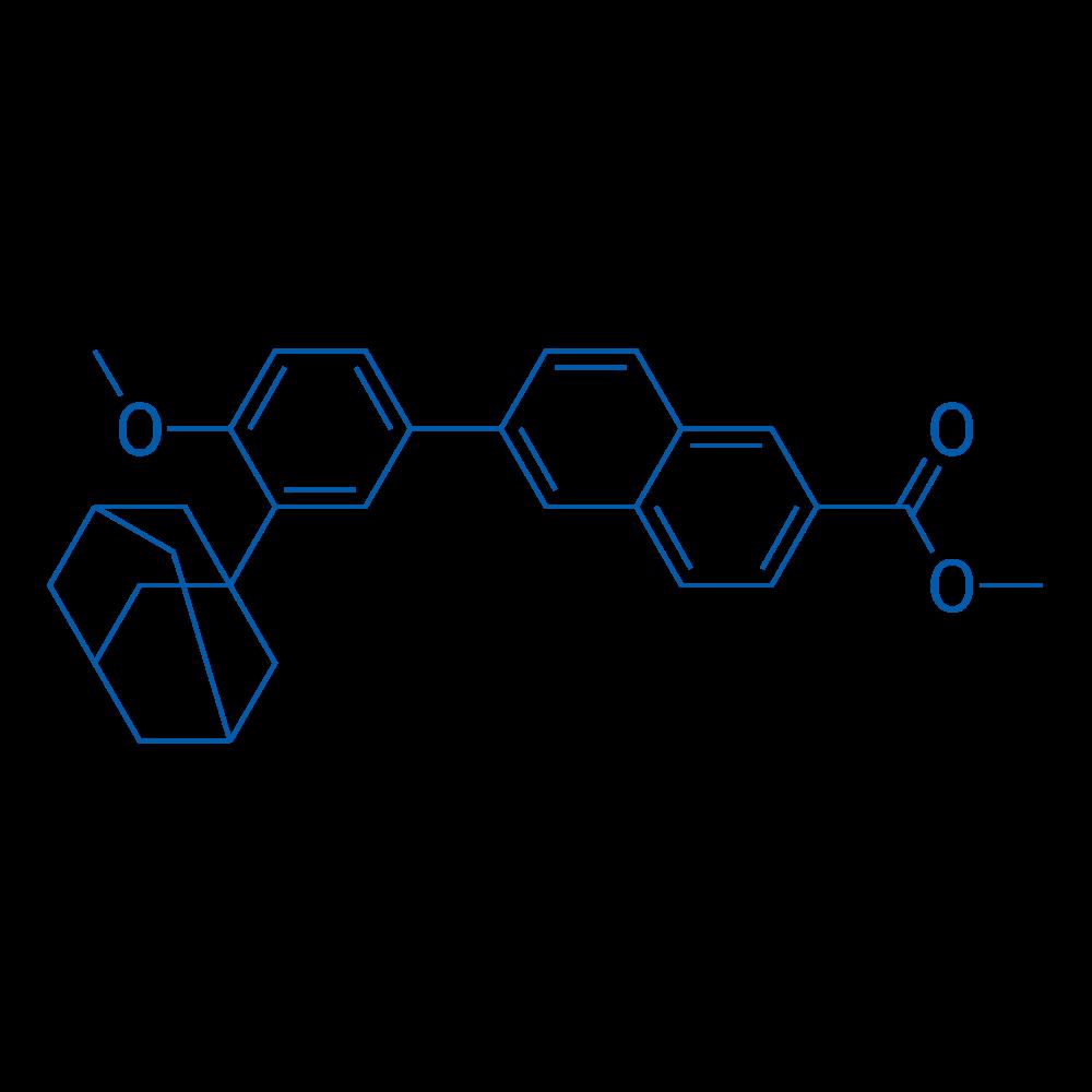 Methyl 6-(3-(adamantan-1-yl)-4-methoxyphenyl)-2-naphthoate
