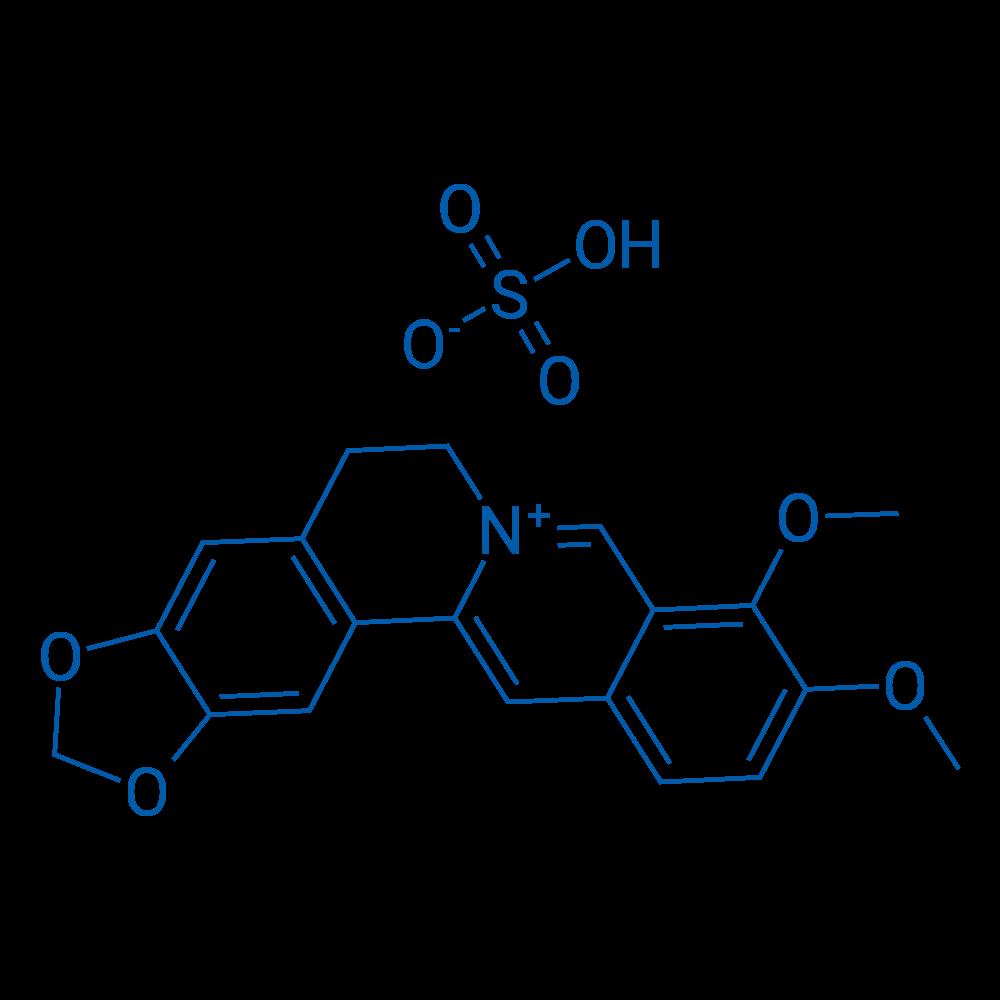 9,10-Dimethoxy-5,6-dihydro-[1,3]dioxolo[4,5-g]isoquinolino[3,2-a]isoquinolin-7-ium hydrogensulfate