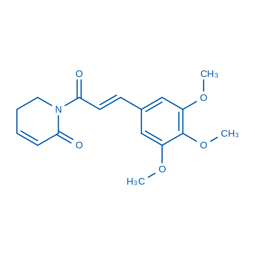 (E)-1-(3-(3,4,5-Trimethoxyphenyl)acryloyl)-5,6-dihydropyridin-2(1H)-one