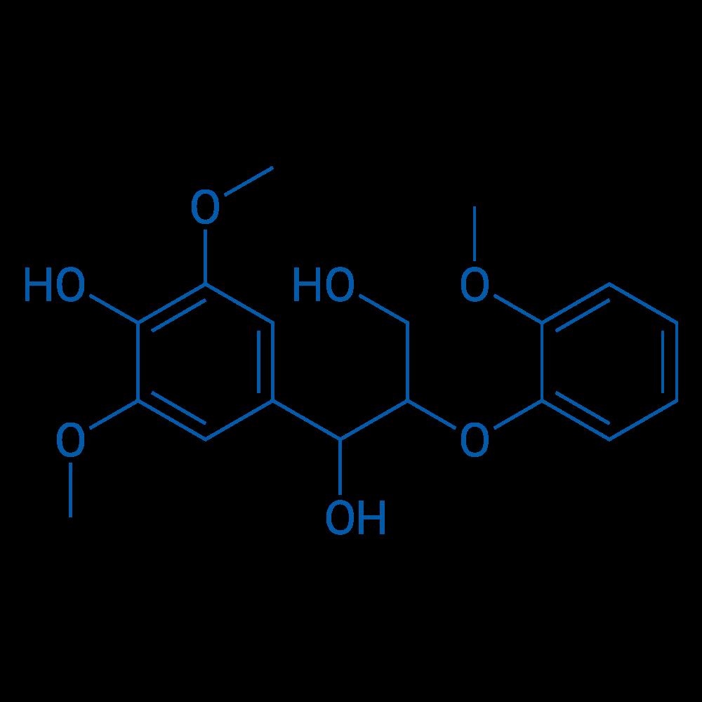 1-(4-Hydroxy-3,5-dimethoxyphenyl)-2-(2-methoxyphenoxy)propane-1,3-diol