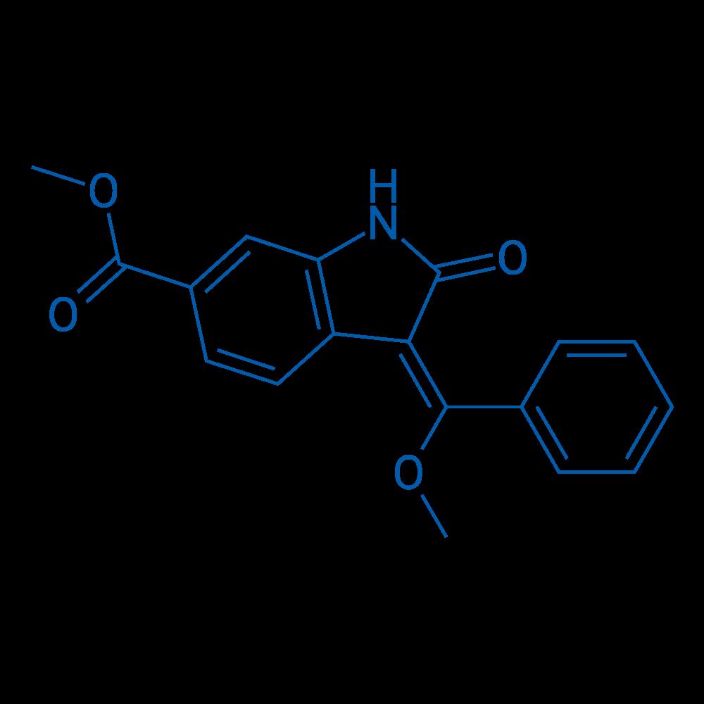 (E)-Methyl 3-(methoxy(phenyl)methylene)-2-oxoindoline-6-carboxylate