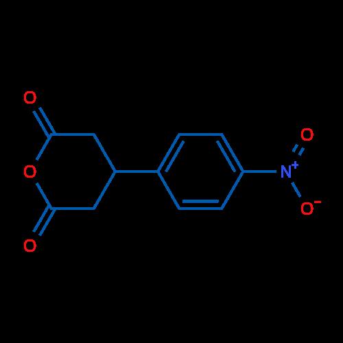 4-(4-Nitrophenyl)dihydro-2H-pyran-2,6(3H)-dione