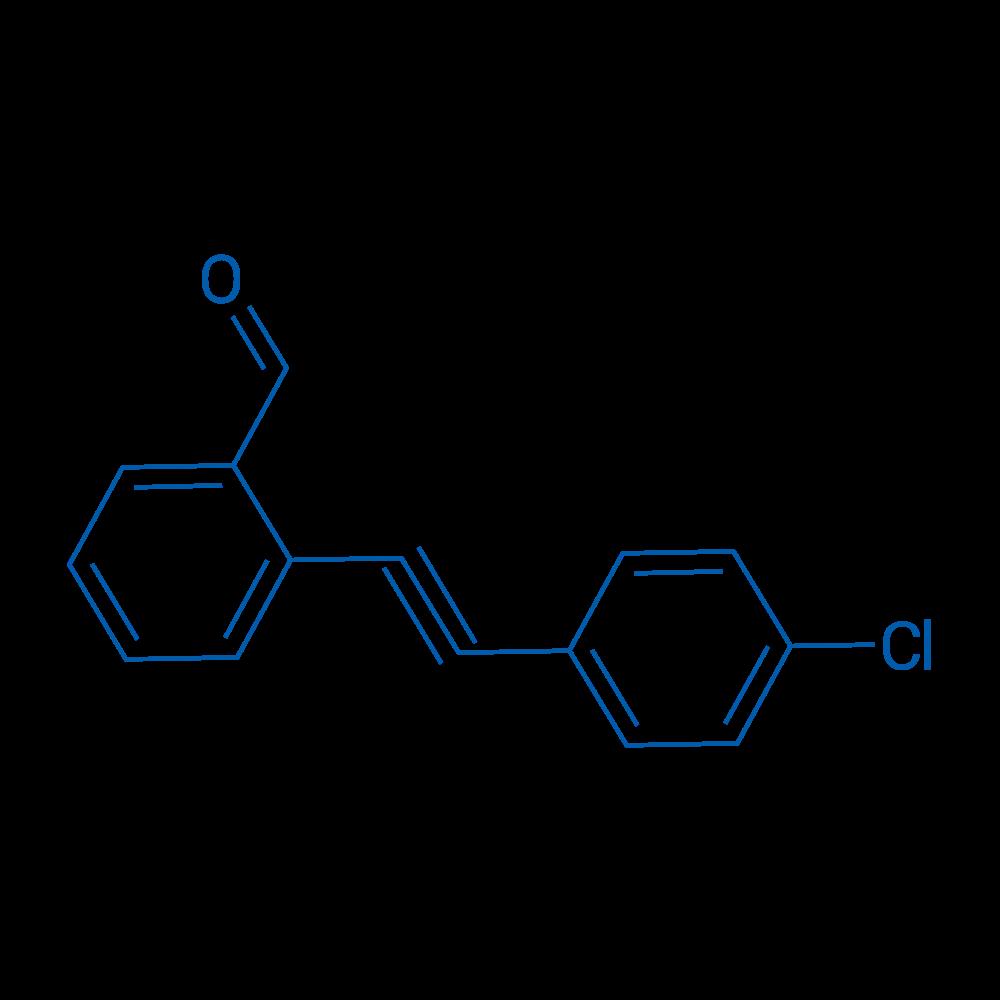 2-((4-Chlorophenyl)ethynyl)benzaldehyde