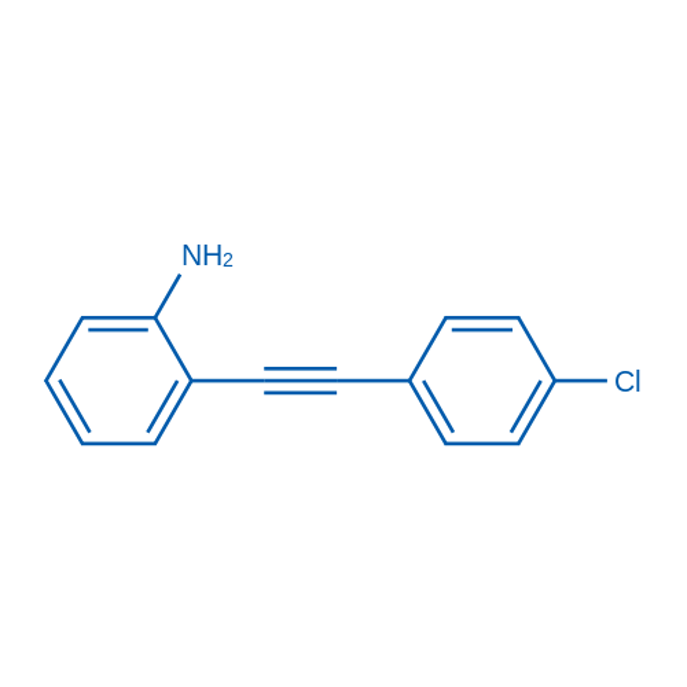 2-((4-Chlorophenyl)ethynyl)aniline