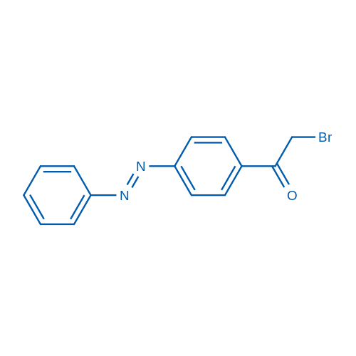 2-Bromo-1-(4-(phenyldiazenyl)phenyl)ethanone