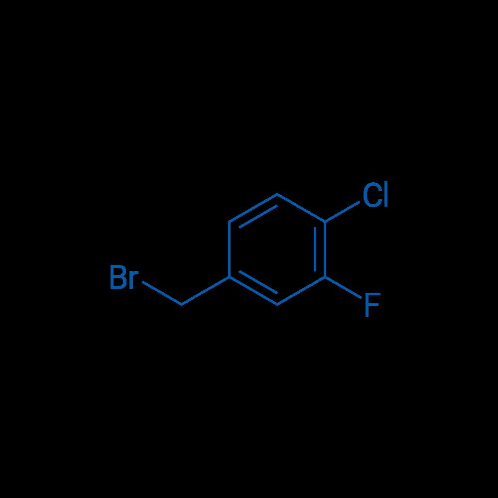 4-(Bromomethyl)-1-chloro-2-fluorobenzene